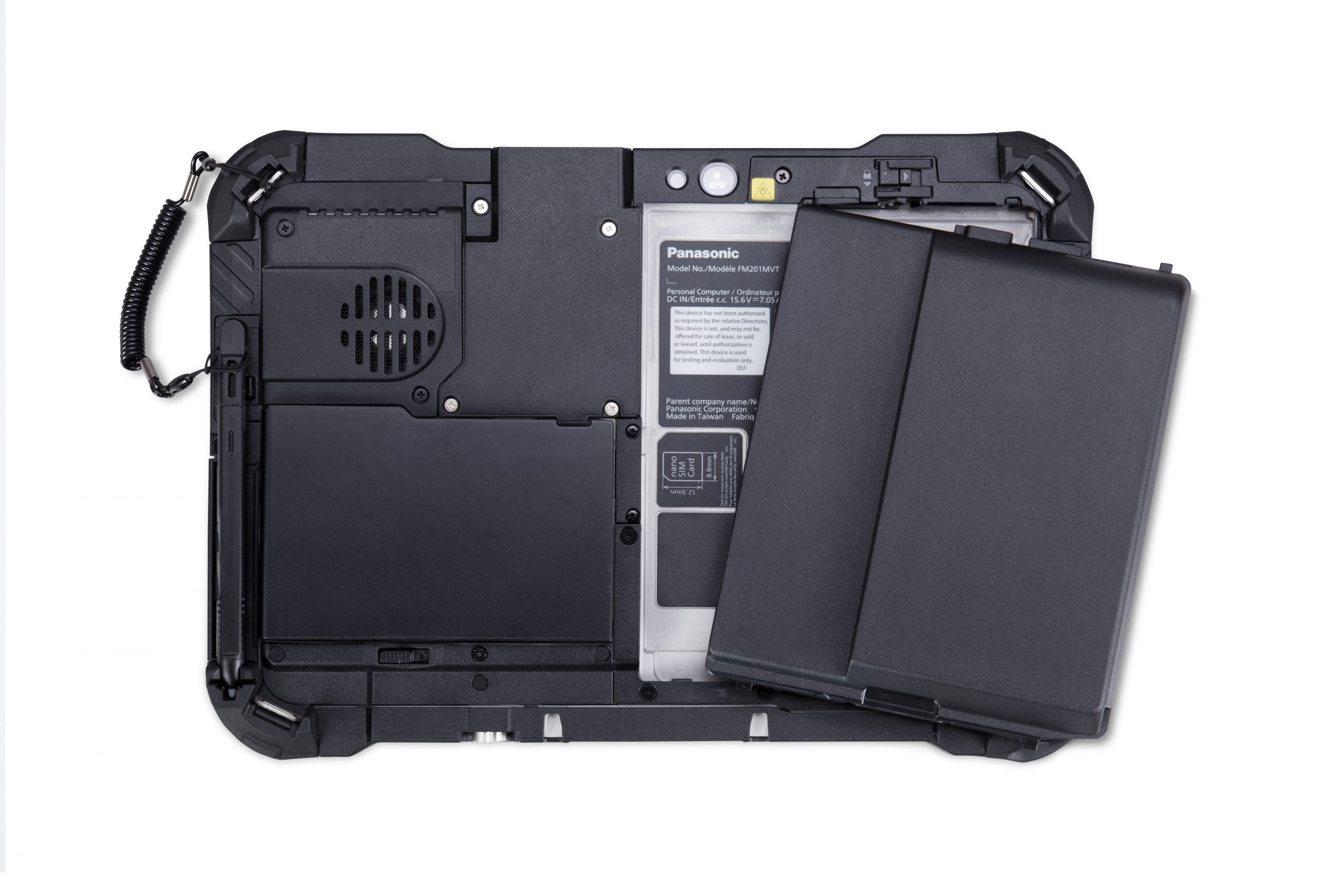 toughbook g2 full rear with large battery scaled Panasonics Toughbook G2 Is Designed For Rough Use